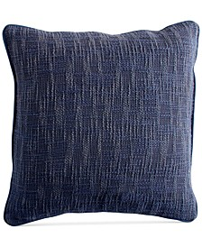 "PURE Space-Dyed 18"" Square Decorative Pillow"