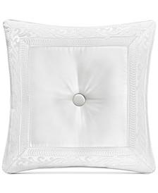 "Bianco Tufted 20"" Square Decorative Pillow"