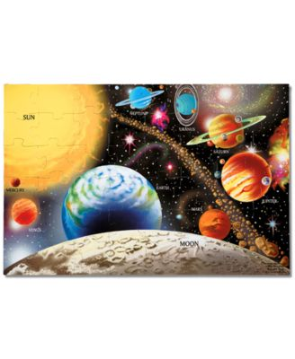 Melissa and Doug Toy, Solar System Floor (48 pc) Puzzle