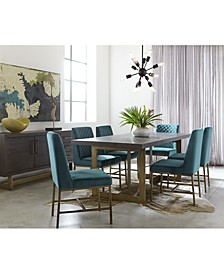 Cambridge Dining 7-Pc. Set (Dining Table & 6 Side Chairs), Created for Macy's
