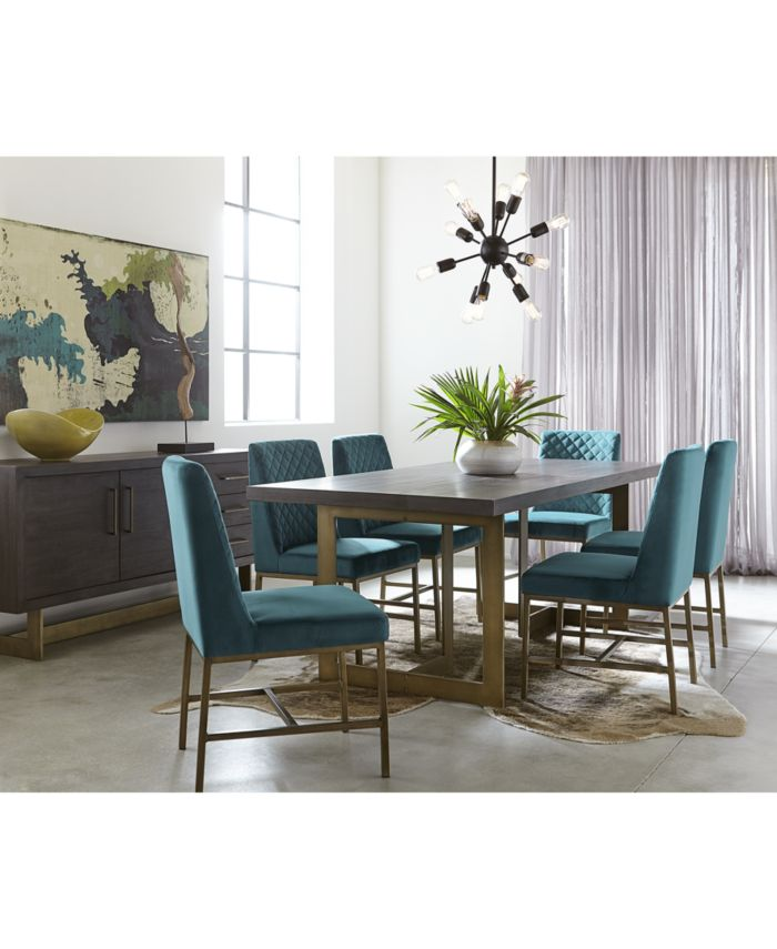 Furniture Cambridge Dining Furniture, 5-Pc. Set (Dining Table & 4 Side Chairs), Created for Macy's & Reviews - Furniture - Macy's