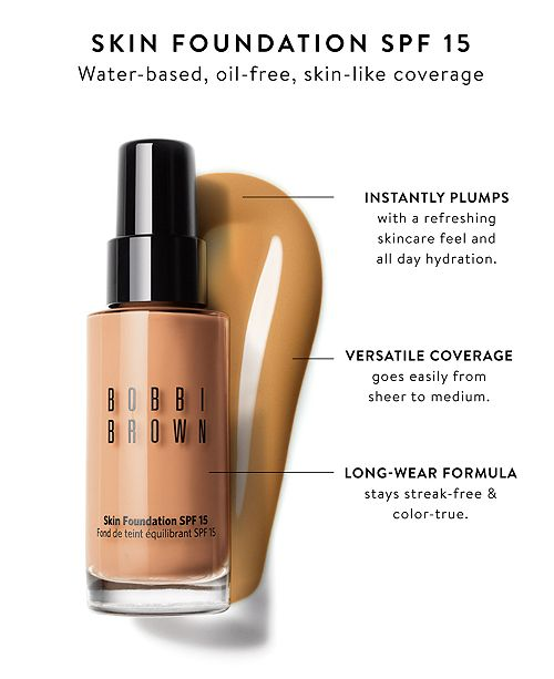 Bobbi Brown Skin Foundation Spf 15 1 Oz Makeup Beauty Macys