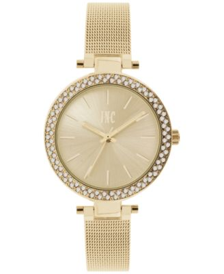 Image of INC International Concepts Women's Gold-Tone or Stainless Steel Mesh Bracelet Watch 36mm IN035G, Onl