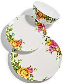Royal Albert Old Country Roses Picnic Melamine Collection