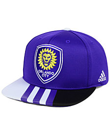 adidas Orlando City SC Authentic Team Snapback Cap