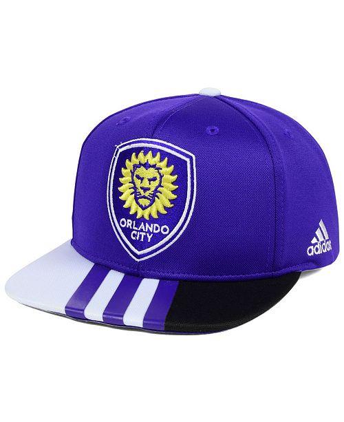 adidas Orlando City SC Authentic Team Snapback Cap
