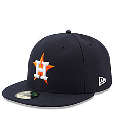 New Era Kids' Houston Astros Authentic Collection 59FIFTY Cap