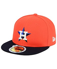 Kids' Houston Astros Authentic Collection 59FIFTY Cap