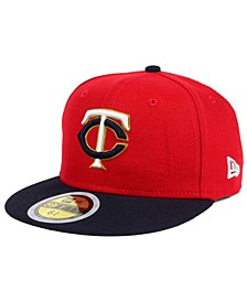 Kids' Minnesota Twins Authentic Collection 59FIFTY Cap