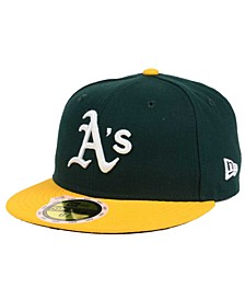 Kids' Oakland Athletics Authentic Collection 59FIFTY Cap