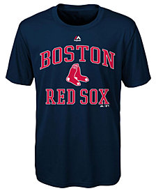 Majestic Boston Red Sox City Wide T-Shirt, Big Boys (8-20)