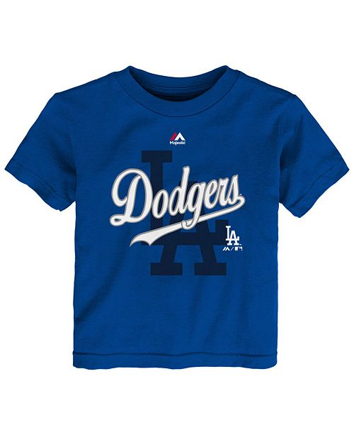 Majestic Los Angeles Dodgers The Game Cotton T-Shirt, Toddler Boys (2T-4T)