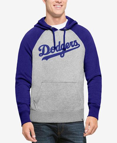 '47 Brand Men's Los Angeles Dodgers Sport Raglan Hoodie
