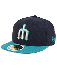 New Era Kids' Seattle Mariners Batting Practice Diamond Era 59FIFTY Cap