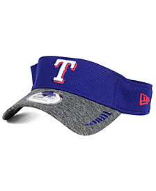 New Era Texas Rangers Shadow Tech Visor