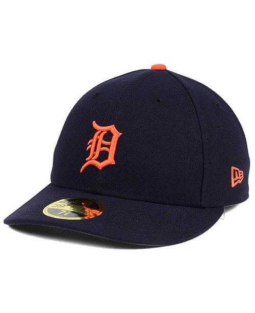 f31357c0335 ... New Era Detroit Tigers Low Profile AC Performance 59FIFTY Cap ...