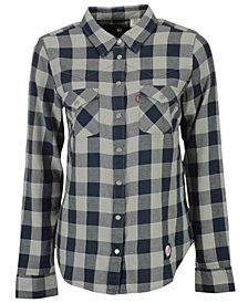 Levi's Women's New York Yankees Buffalo Western Button-Up Shirt
