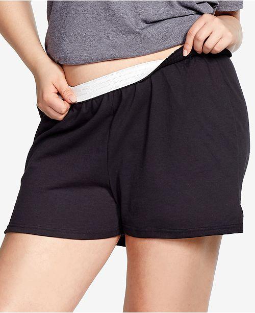 Soffe Curves Plus Size Active Shorts