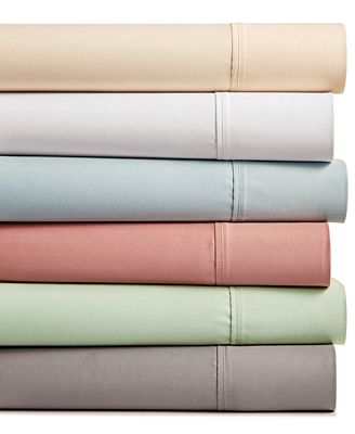 Amherst Cotton Sateen 400-Thread Count 4-Pc. Sheet Sets