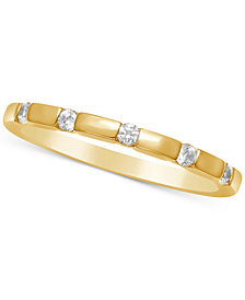 Diamond Thin Stackable Band (1/6 ct. t.w.)