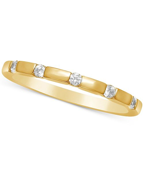 Macy's Diamond Thin Stackable Band (1/6 ct. t.w.)