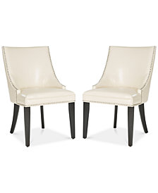 Haldi Set of 2 Dining Chairs, Quick Ship