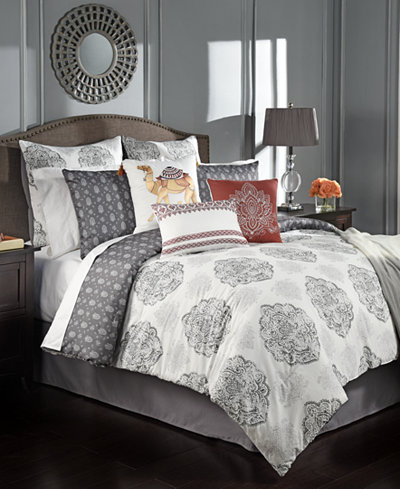 CLOSEOUT! Rohan Reversible 10-Pc. King Comforter Set