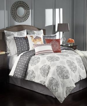 Rohan Reversible 10Pc California King Comforter Set Bedding