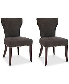 Astria Set of 2 Side Chairs, Quick Ship