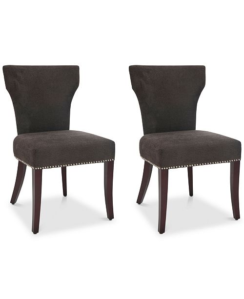 Safavieh Astria Set of 2 Side Chairs, Quick Ship