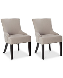 Rosyn Set of 2 Dining Chairs, Quick Ship