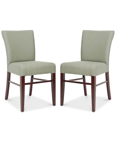 Carena Set of 2 Dining Chairs, Quick Ship