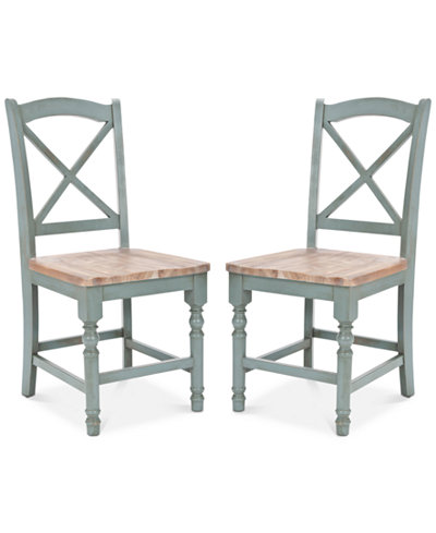 Bolten Set of 2 Side Chairs, Quick Ship