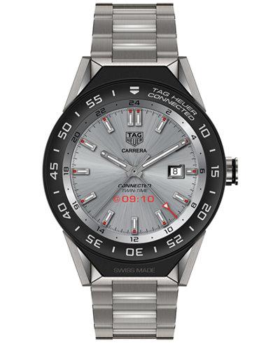 TAG Heuer Modular Connected 2.0 Men's Swiss Titanium Bracelet Smart Watch 45mm SBF8A8001.10BF0608