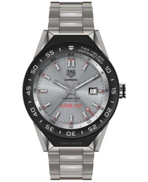 Tag Heuer Modular Connected 2.0 Men's Swiss Titanium Bracelet Smart Watch 45mm