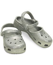 Crocs Karin Sparkle Clogs, Baby Girls, Toddler Girls & Little Girls