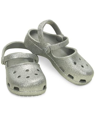 Crocs Karin Sparkle Clogs, Baby Girls, Toddler Girls & Little Girls
