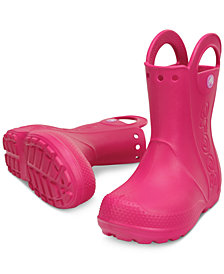 Crocs Handle It Rain Boots, Toddler Girls & Little Girls