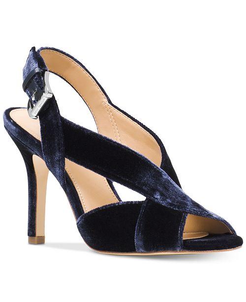 66c8ea123cd Michael Kors Becky Dress Sandals   Reviews - Sandals   Flip Flops ...