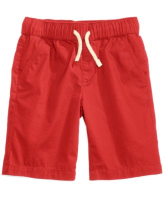 Pull-on Shorts with functional drawstring, Toddler Boys, Created for Macy's
