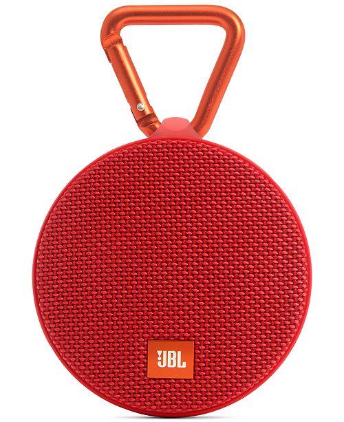 JBL Clip 2 Waterproof Bluetooth Speaker & Reviews - Gifts & Games