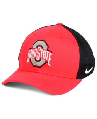 Nike Ohio State Buckeyes Aero Bill Mesh Swooshflex Cap - Sports Fan Shop By  Lids - Men - Macy s b1af5147f45a