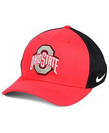 Nike Ohio State Buckeyes Aero Bill Mesh Swooshflex Cap