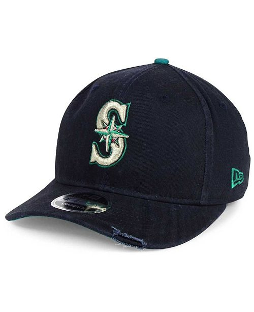 big sale 10be5 4935a ... New Era Seattle Mariners Team Rustic 9FIFTY Snapback Cap ...