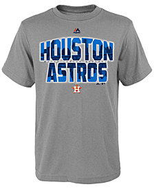 Majestic Houston Astros Spark T-Shirt, Big Boys (8-20)