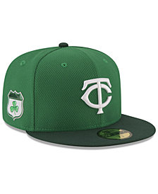 New Era Minnesota Twins St. Pattys Diamond Era 59FIFTY Cap