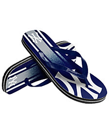 Forever Collectibles New York Yankees Gradient Big Logo Flip Flops