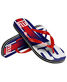 Forever Collectibles New York Giants Gradient Big Logo Flip Flops