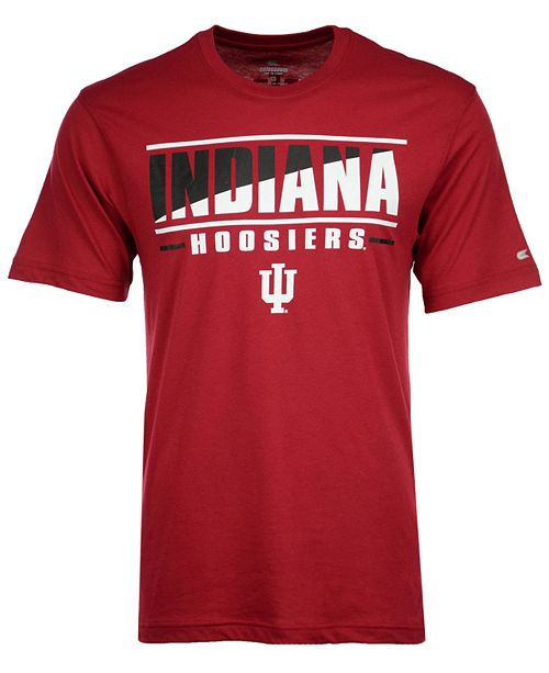 Colosseum Men's Indiana Hoosiers Two Face T-Shirt