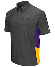 Colosseum Men's LSU Tigers The Bro Polo